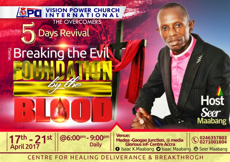 Photo of Vision Power Church International (The Overcomers) Presents a Five (5) Days Revival