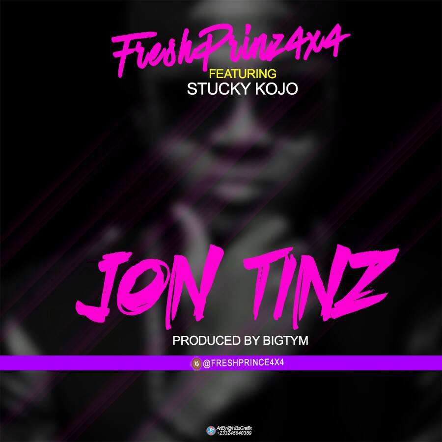 Photo of Fresh Prinz (4×4) Ft Stucky Kojo – Jon Tinz (Prod By BigTym)