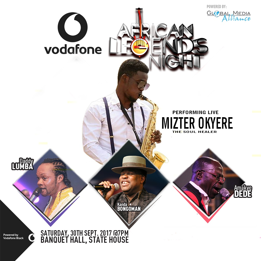 Mizter Okyere Rocked African Legends Night 2017 with Daddy Lumba, Amakye Dede, Kanda Bongo Man