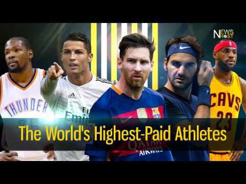 Photo of 2017 Top 5 Highest Earning Athletes (See List)