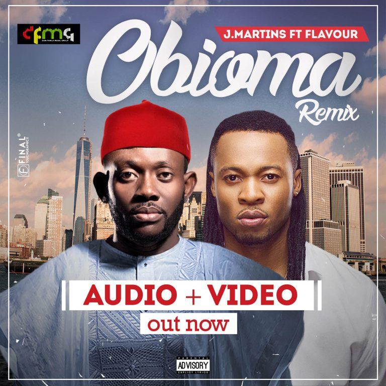 Photo of J. Martins Ft. Flavour – Obioma (Remix)