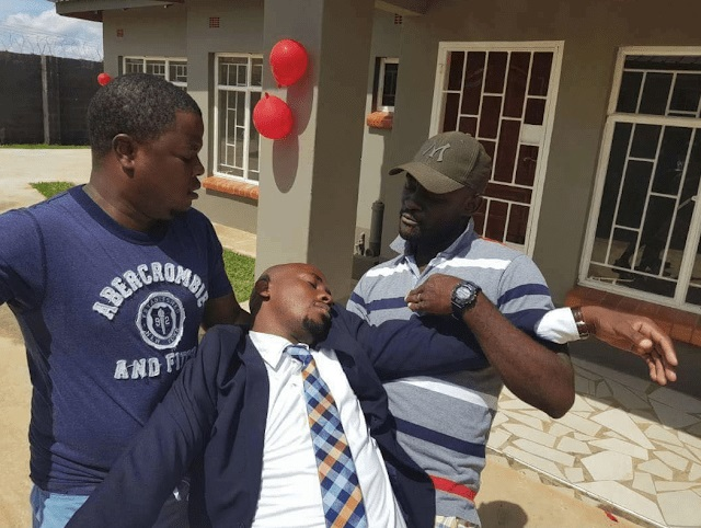 Photo of Man Faints After His Girlfriend Surprised Him With a 2-bedroom House As Valentine Gift.