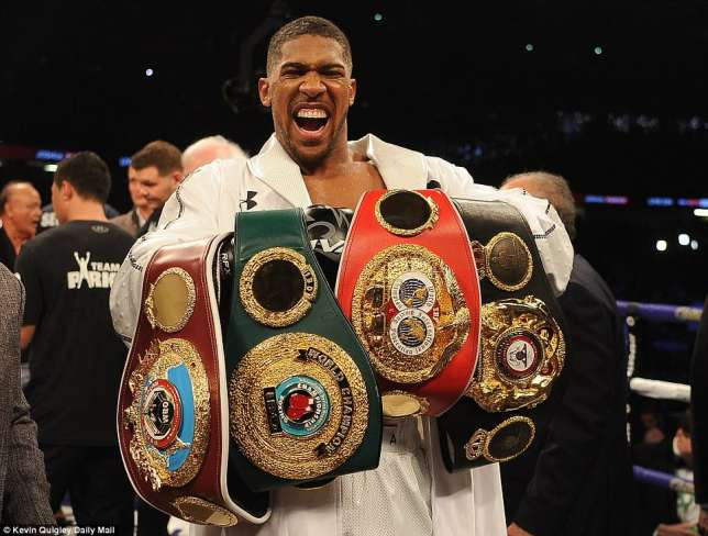 Photo of Anthony Joshua $20m Richer After Beating Parker