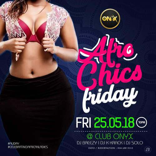 Photo of Afro Chics Friday At Club Onyx Comes Off On AU Day