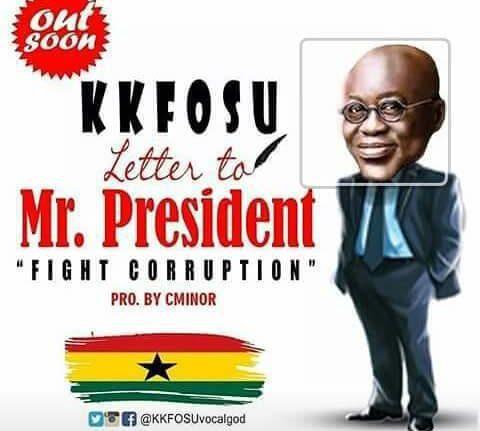 Photo of KK Fosu – Letter To Mr President (Fight Corruption) (Prod By CMinor)