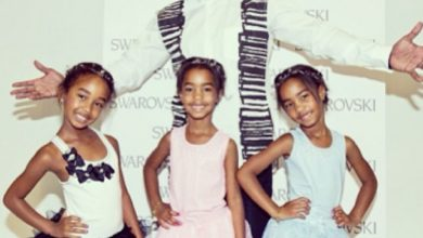 Photo of Diddy's Daughters Hang With Uncle Jay-Z Backstage