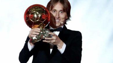 Photo of PHOTO: Ballon d'Or 2018: Luka Modric beats Messi-Ronaldo Duopoly to Win Prestigious Award