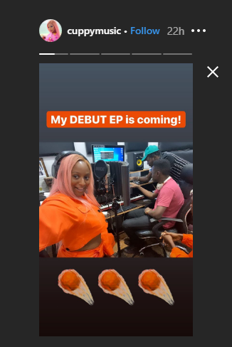 DJ Cuppy set to drop debut EP, teases collaboration with Stonebwoy