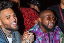 Chris Brown Surprises Davido