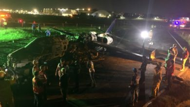 Plane Carrying Coronavirus Materials Crashes, No Survivors