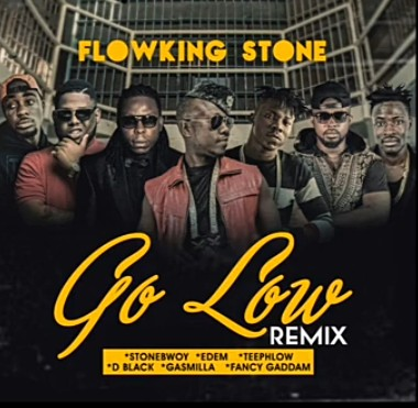 Photo of Flowking Stone Ft Stonebwoy x Edem x D Black x Teephlow x Gasmilla x Fancy Gadam – Go Low Remix