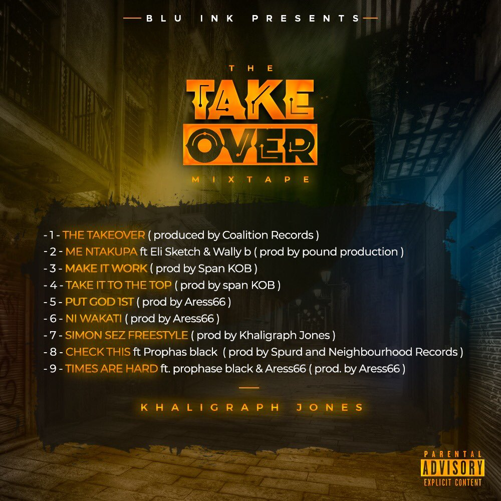 Photo of Khaligraph Jones – The Takeover (Prod. By Coalition Records)
