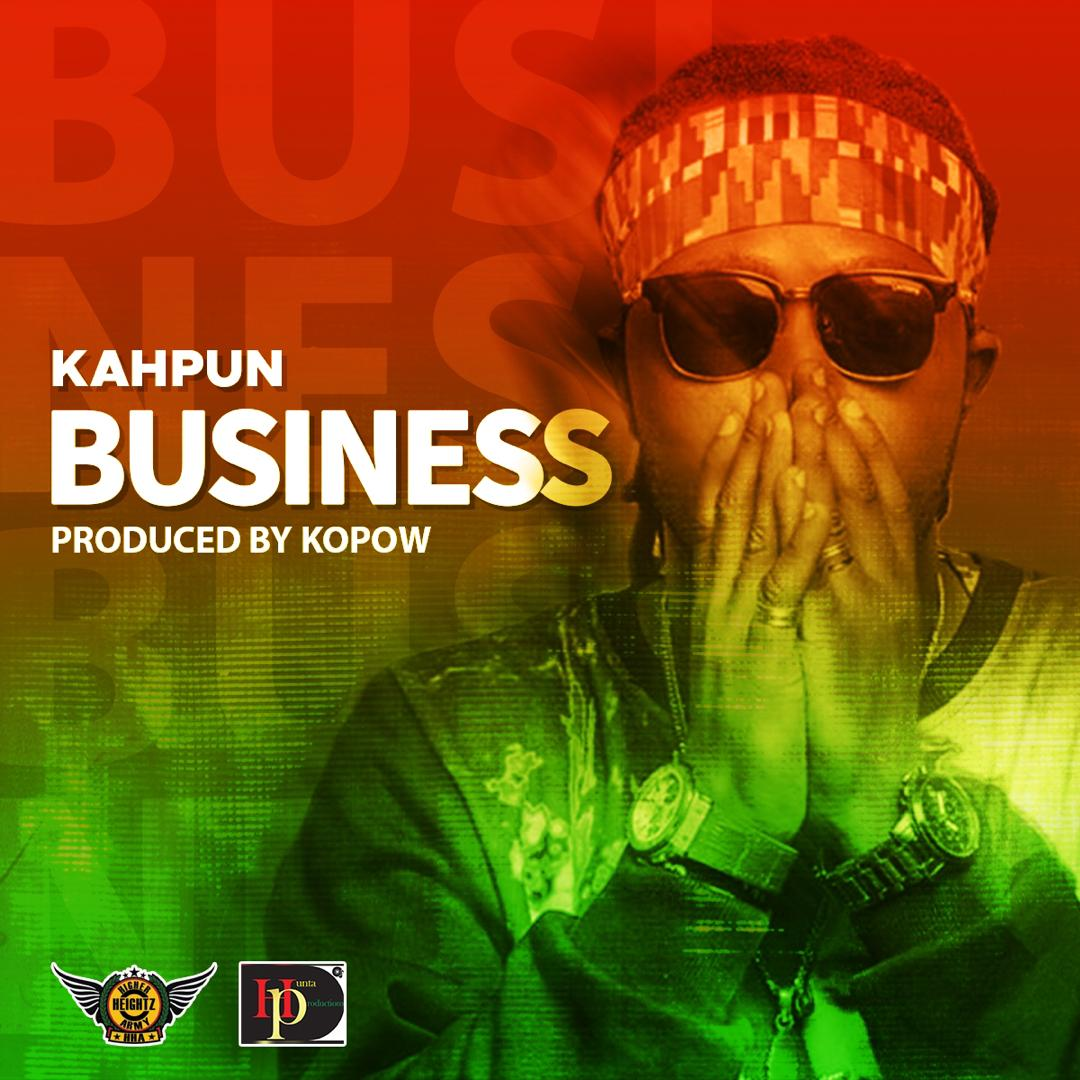 Photo of Kahpun – Business (Prod. By Kopow Naade)