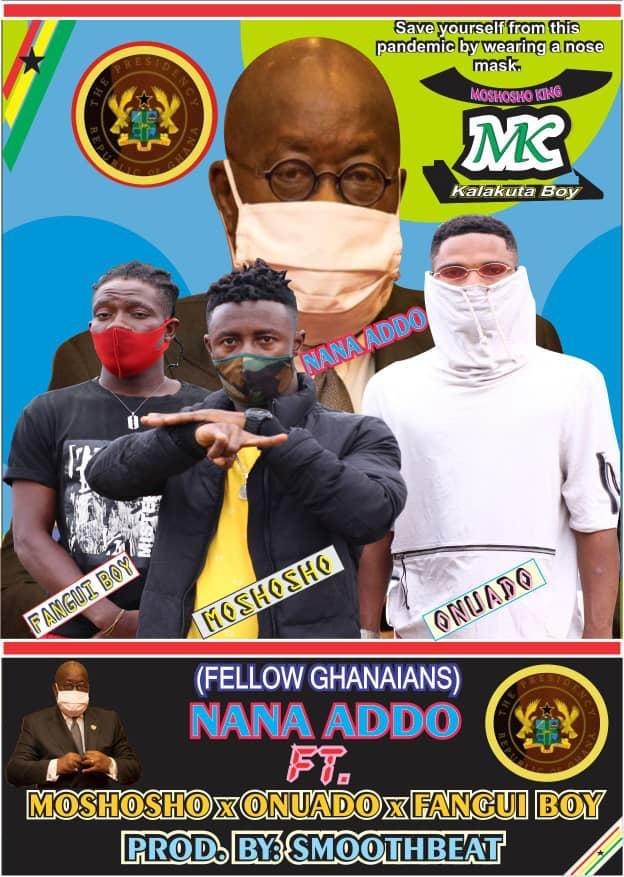 Moshosho x Nana Addo x Onuado x Fangui Boy - Fellow Ghanaians (Prod. By SmoothBeat)