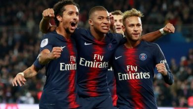 Three PSG Players test Positive for Coronavirus