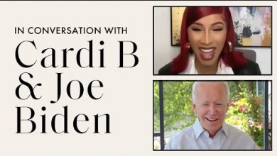 Cardi B Interviews Joe Biden