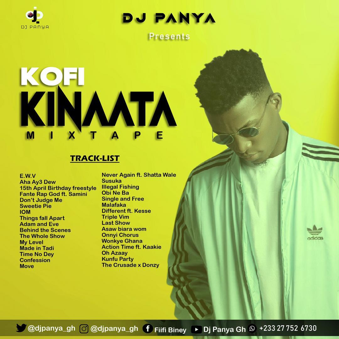 Kofi Kinaata Mixtape - Dj Panya