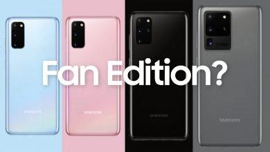 Samsung Galaxy S20 Fan Edition Image