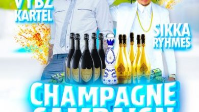 Photo of Vybz Kartel Ft. Sikka Rymes – Champagne Campaign