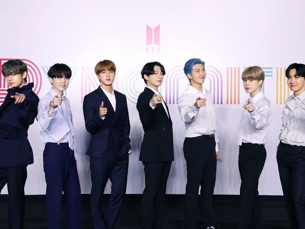 BTS tops Billboard Hot 100 Chart