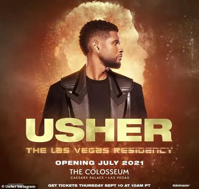 Usher Announces Las Vegas Residency