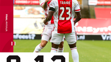 Ajax Make Eredivisie History after Winning 130