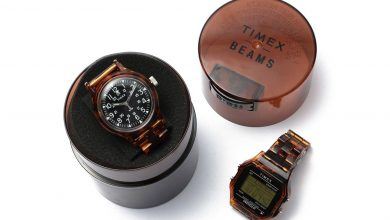 Photo of BEAMS Teams Up With Timex for Tortoise Shell Watches