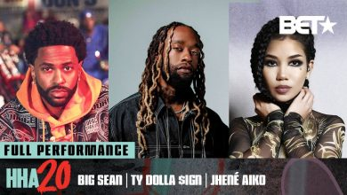 Photo of Big Sean, Jhené Aiko x Ty Dolla Sign Perform 'Body Language' at 2020 BET Hip Hop Awards