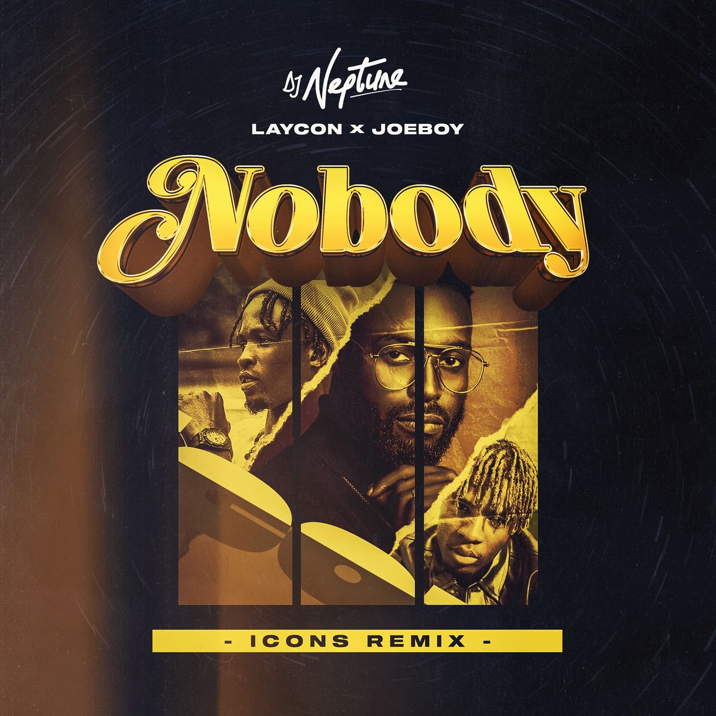 DJ Neptune Ft Laycon x Joeboy - Nobody Icon Remix