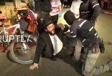 Israeli Police clash
