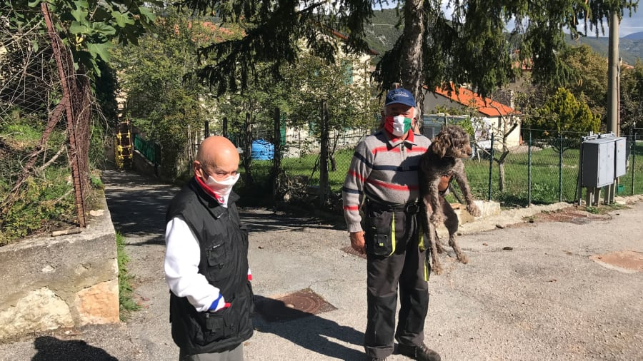 Italian Town with Just two Residents and They Still Insist On Wearing Masks