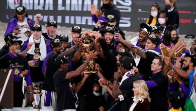 Photo of Lakers Win Record-Tying 17th NBA Title, Giving LeBron James His 4th Championship