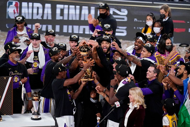 Lakers Win the NBA Title