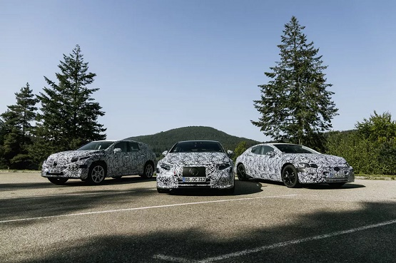 Mercedes-Benz EQS and EQE Luxury Electric Vehicles