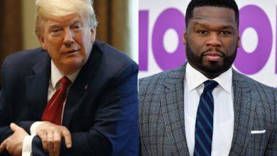 Photo of Rapper 50 Cent Endorses Donald Trump for President