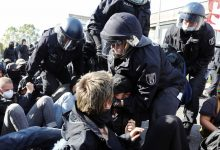 Watch German Police Clash with Anti-fascists