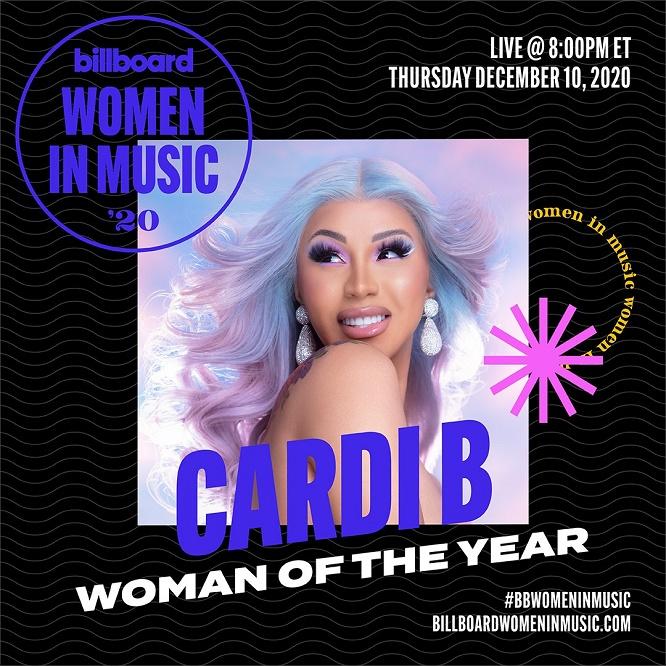 Cardi B Named Billboard Woman Of The Year