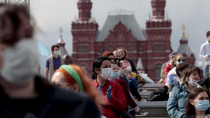 Coronavirus cases in Russia