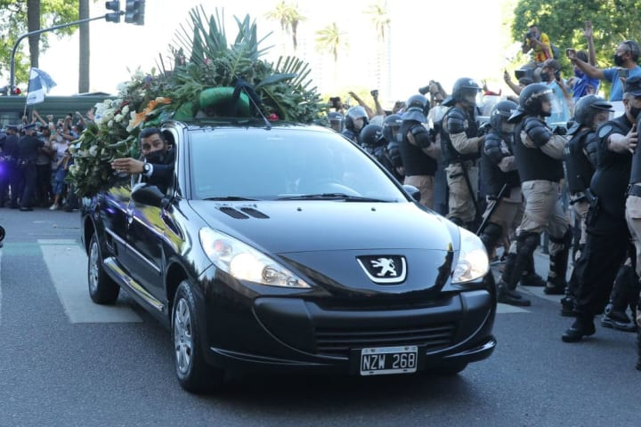 Maradona laid to rest