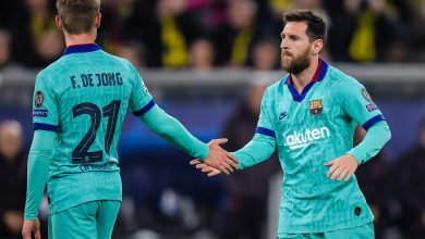 Messi and Frenkie De Jong