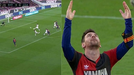 Messi honours Maradona