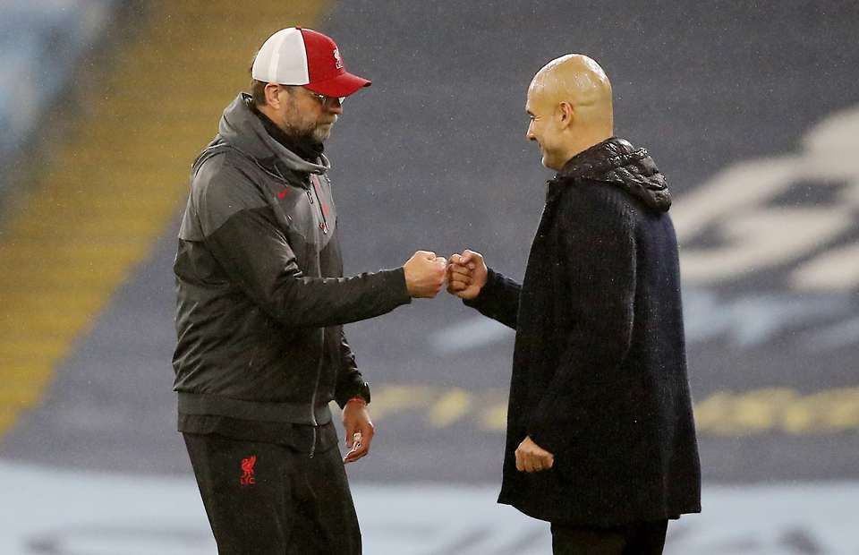 Pep Guardiola Reveals what He said to Jurgen Klopp at full-time - Video