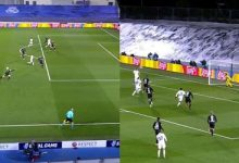 Benzema put Real Madrid ahead with a header