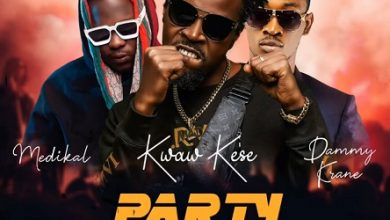 Kwaw Kese Ft Medikal x Dammy Krane Party Rocker