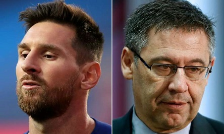 Messi To Take Legal Action Against Bartomeu and Tusquets