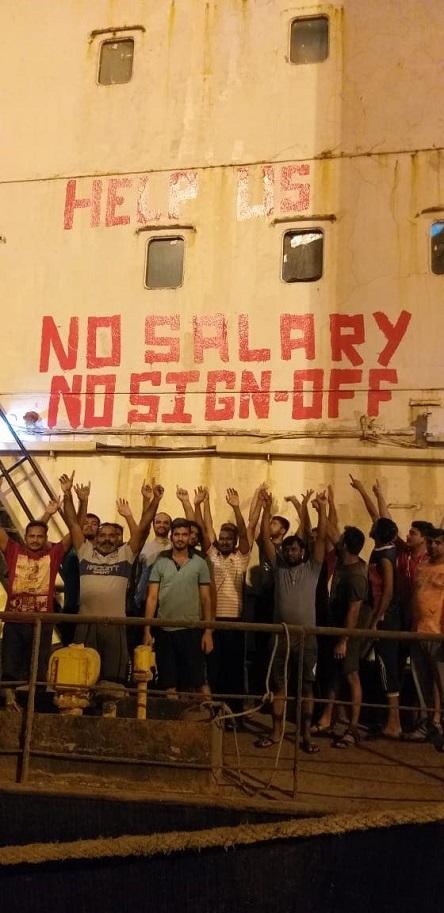 Abandoned Seafarers in Kuwait Enter Eleventh Week of Hunger Strike