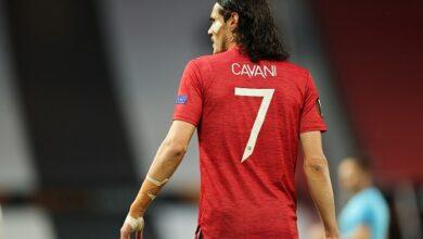 Edinson Cavani Extends Manchester United Contract